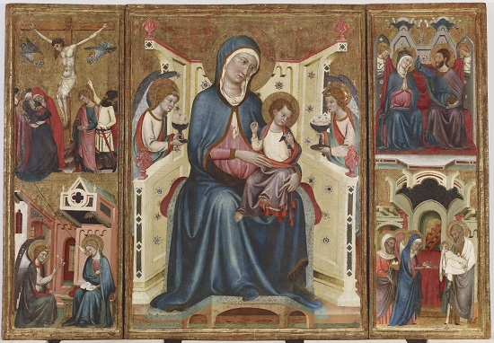 Triptych_with_Madonna_and_Child_with_the_Crucifixion_and_the_Annunciation
